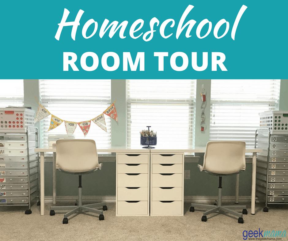 My Homeschool Room Tour