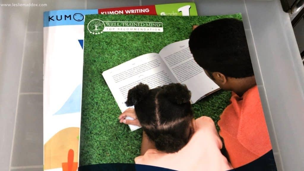 Homeschool Workboxes - Grammar