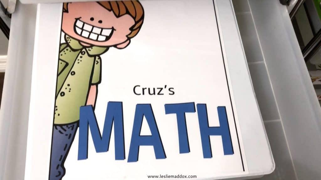 Homeschool Workboxes - Math