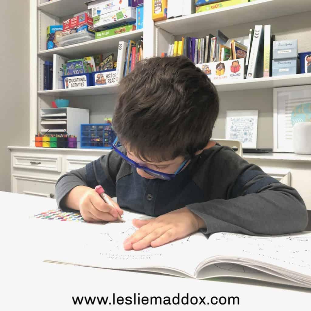 Homeschool Pre-K Curriculum - Mid-Year Update