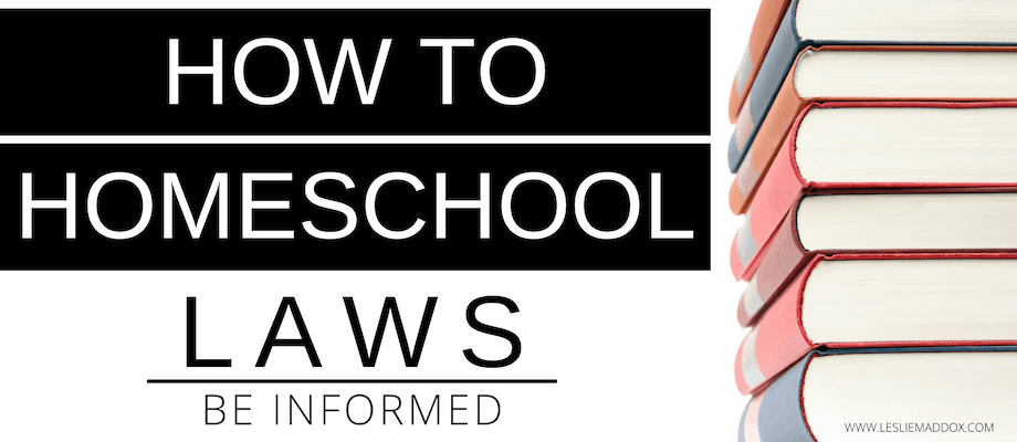 How to Homeschool – Be Informed About Laws