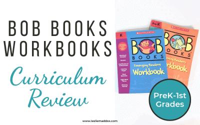 Bob Books Workbooks Curriculum Review
