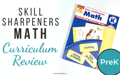 Math Curriculum Review – Evan-Moor Pre-K Workbook