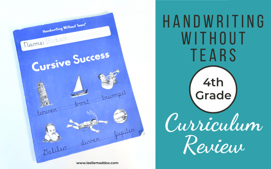Handwriting Without Tears Review – Cursive