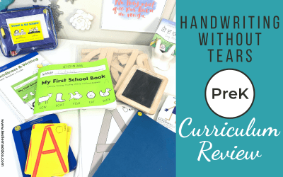 Handwriting Without Tears Review – Pre-K