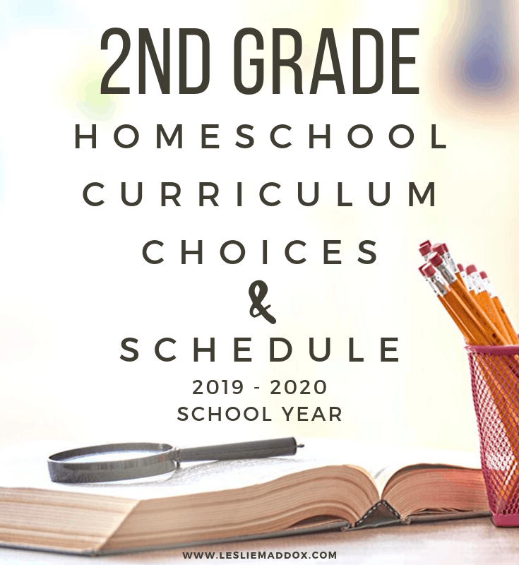 2nd grade curriculum choices