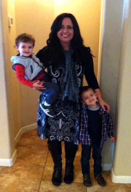 Me with my kiddos