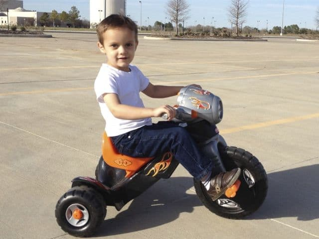 Michael on Big Wheels