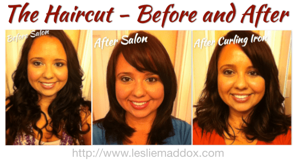 The Haircut – Before and After