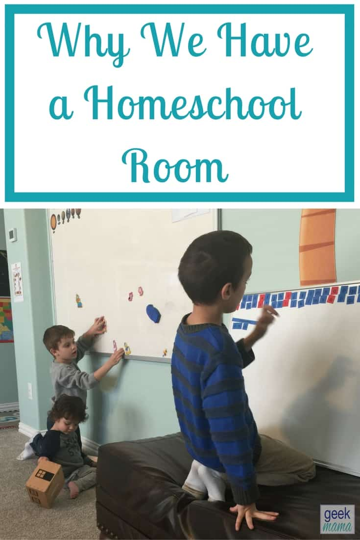 Why We Have a Homeschool Room