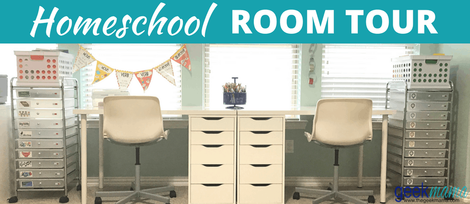 Homeschool Room Tour 2017