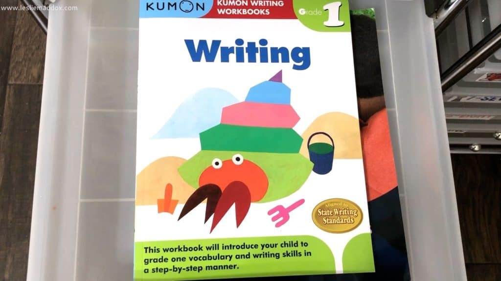 Homeschool Workboxes - Grammar