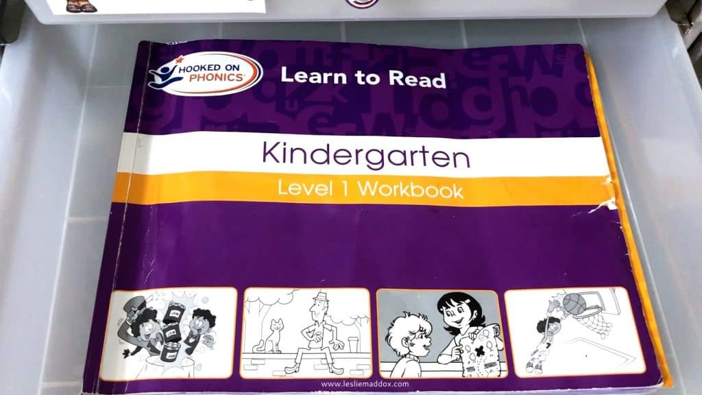 Homeschool Workboxes for Pre-K