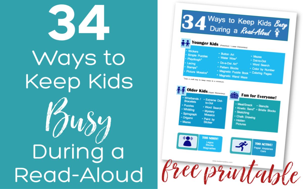 Read-Aloud Activities