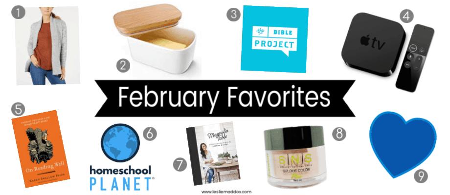 February Favorites 2019