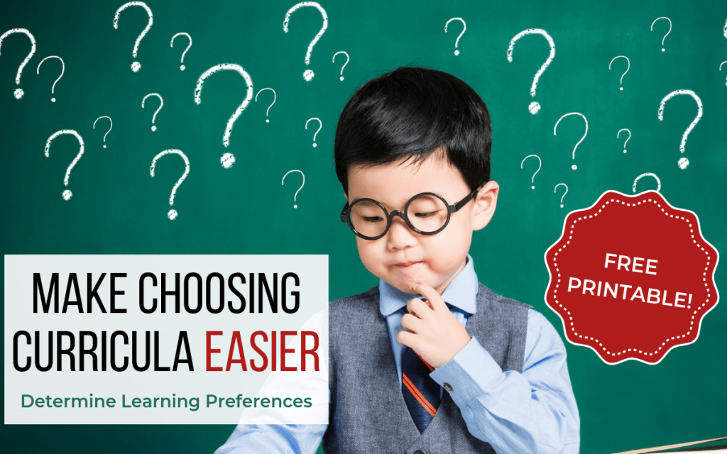 How to Homeschool - Learning Preferences