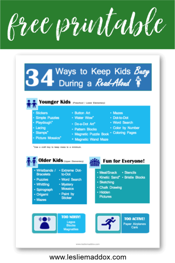 Read-Aloud Activities