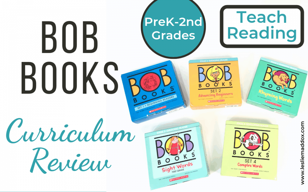 Bob Books Curriculum Review