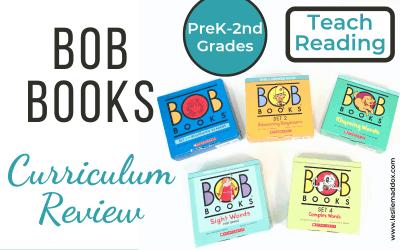 Bob Books Curriculum Review