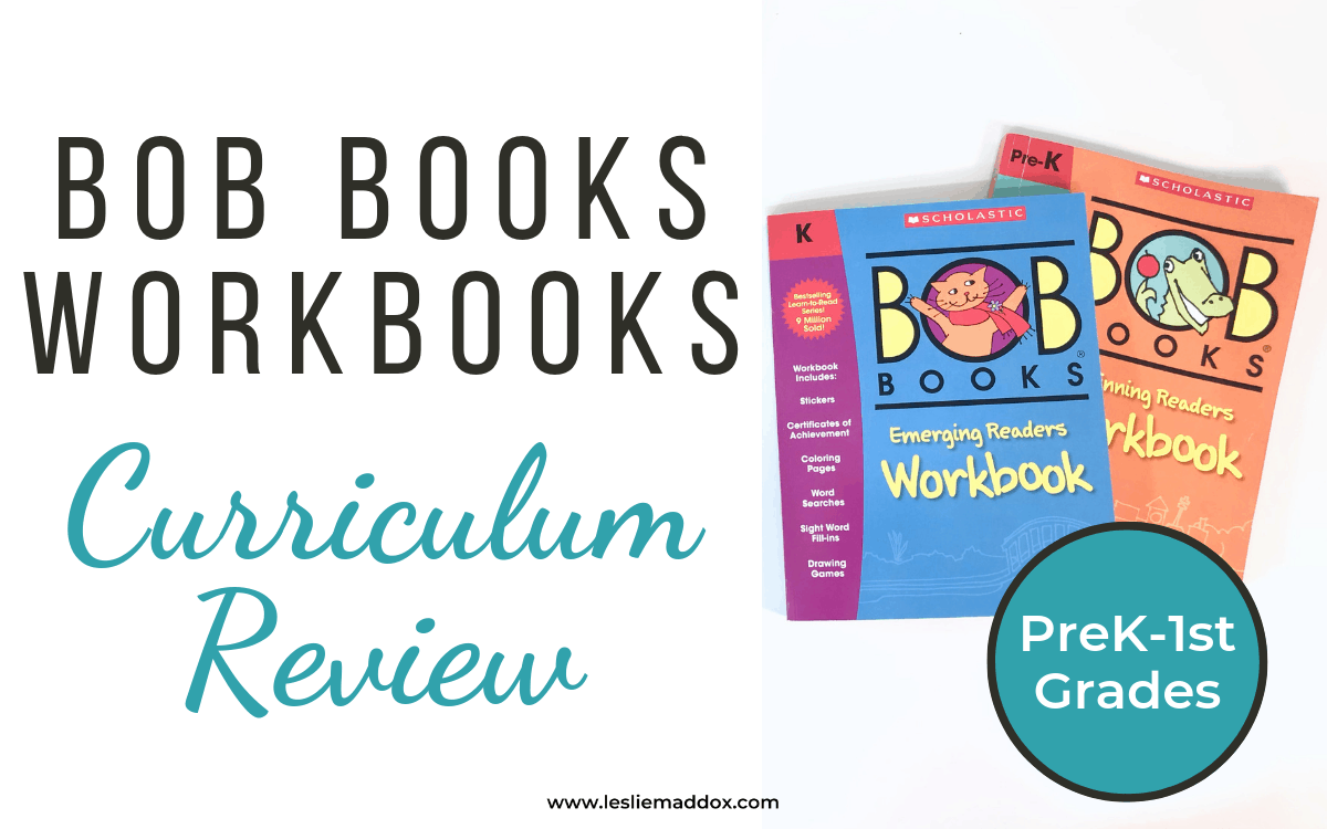 Bob Books Workbooks Curriculum Review