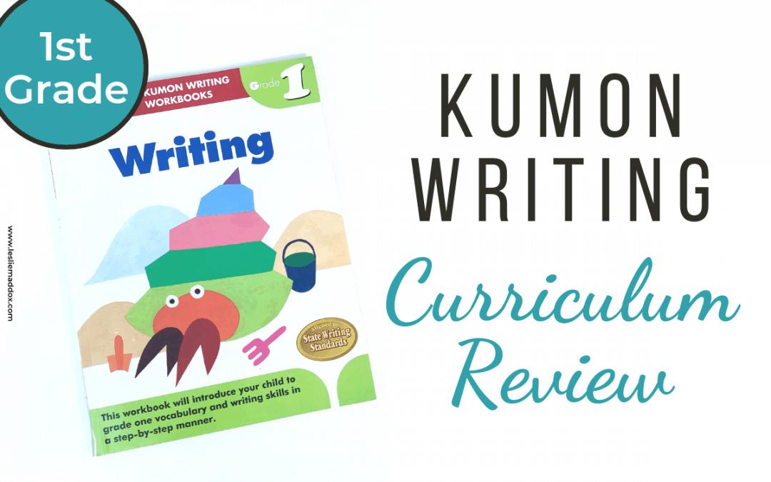 Kumon Writing Workbook Curriculum Review