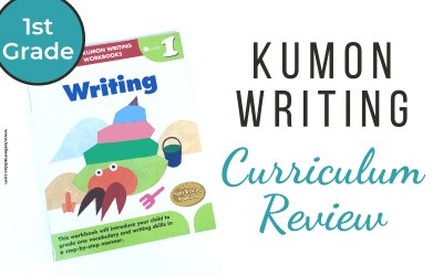 Kumon Writing Workbook Curriculum Review