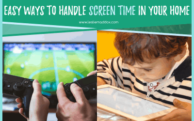 Easy Ways To Handle Screen Time in Your Home
