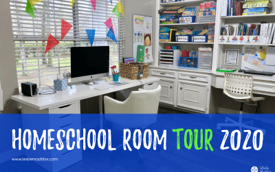 Homeschool Room Setup 2020