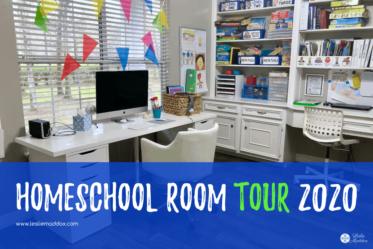 homeschool room setup