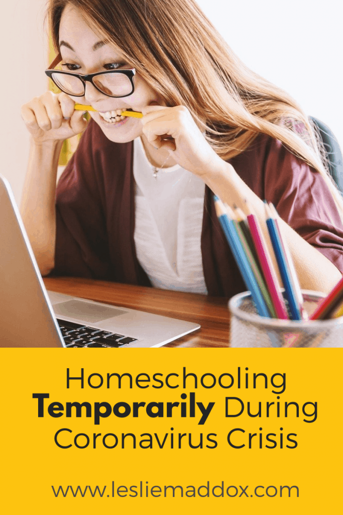 homeschooling during the coronavirus crisis