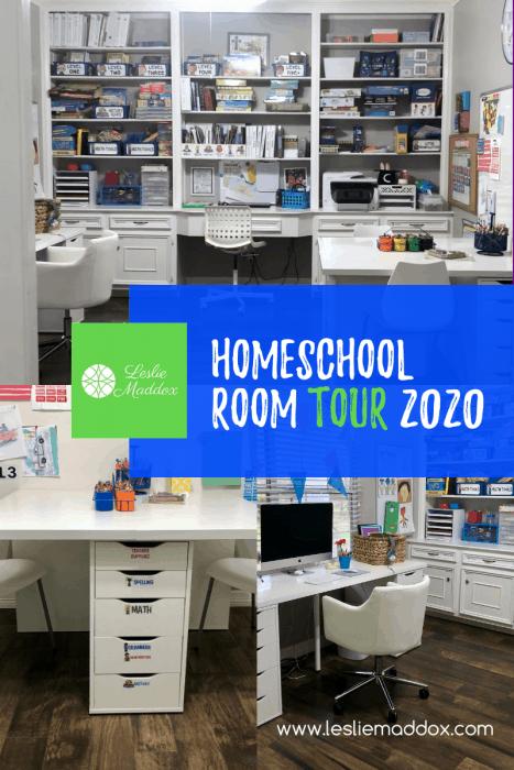 homeschool room setup
