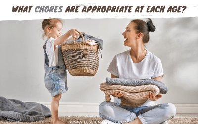 What chores are appropriate at each age?