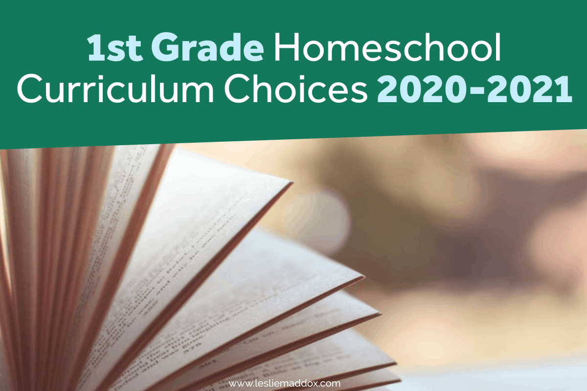 1st grade homeschool curriculum