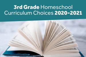 3rd grade homeschool curriculum
