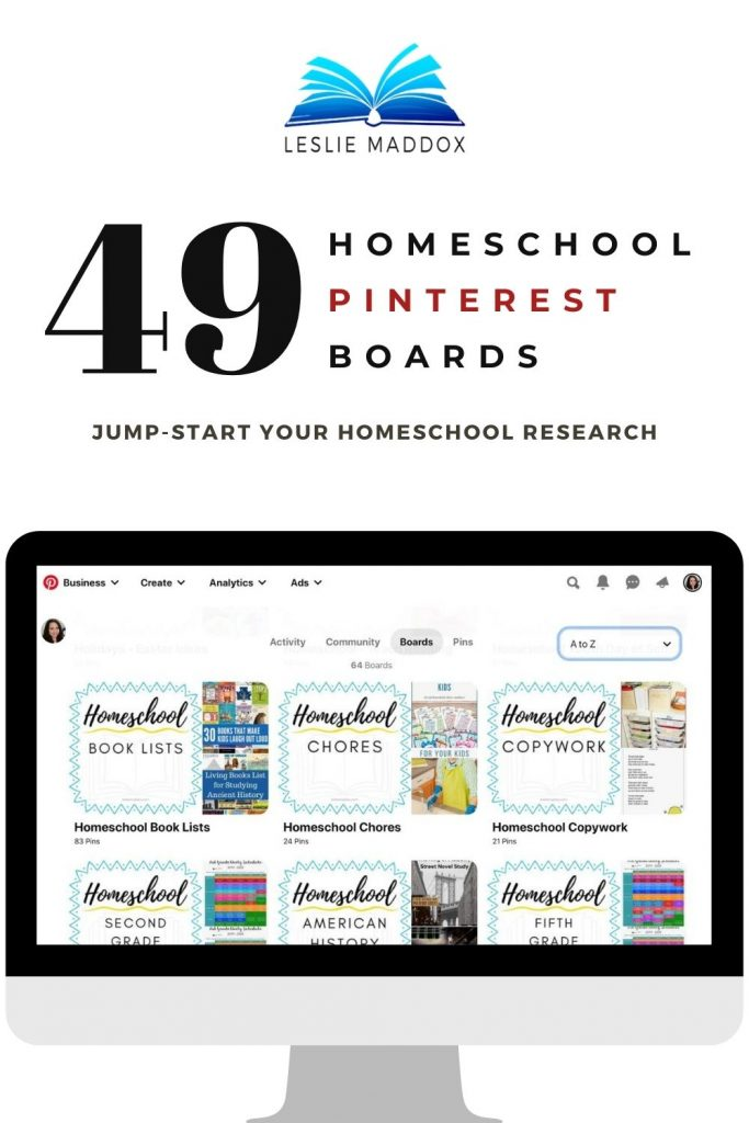pinterest home education