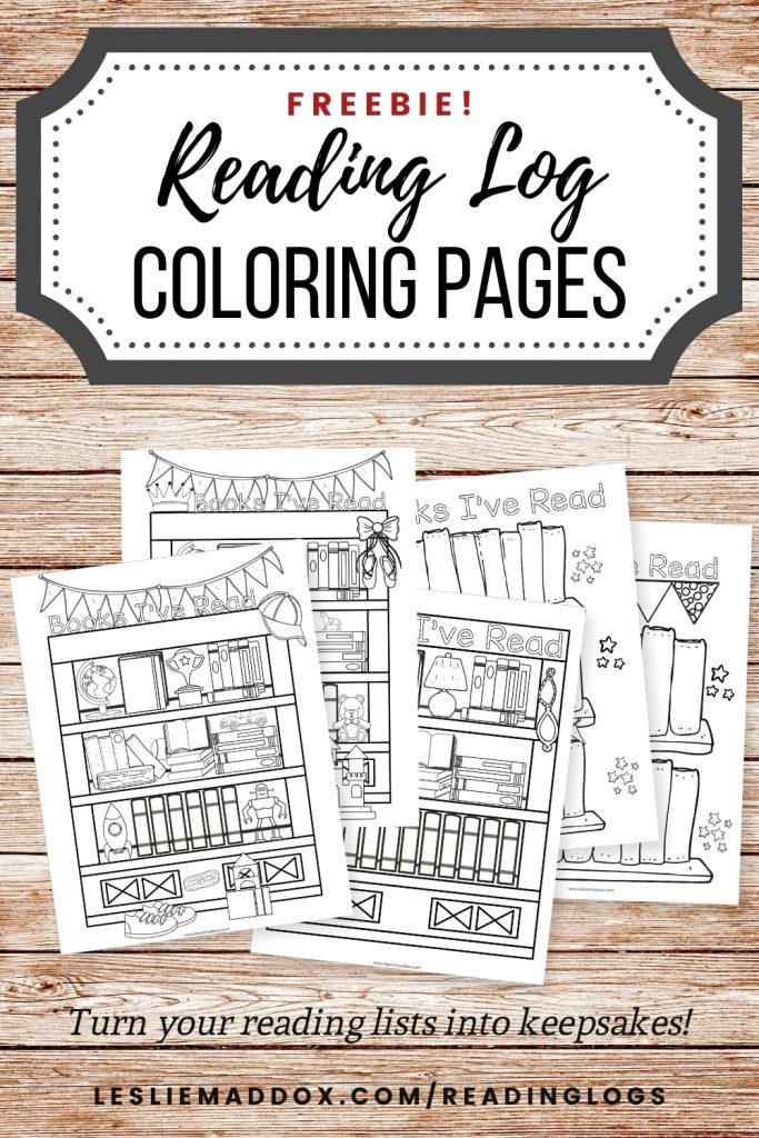 Turn your kids' reading lists into keepsakes and make reading a daily habit with a fun coloring reading log printable.