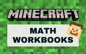 Minecraft Math Workbooks