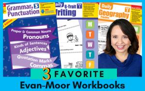 3 Favorite Workbooks from Evan-Moor